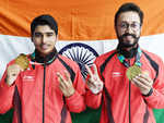 Three for joy: Schoolboy, lawyer, veteran show India's shooting range