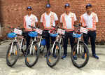 Traffic police set up cycle brigade in city