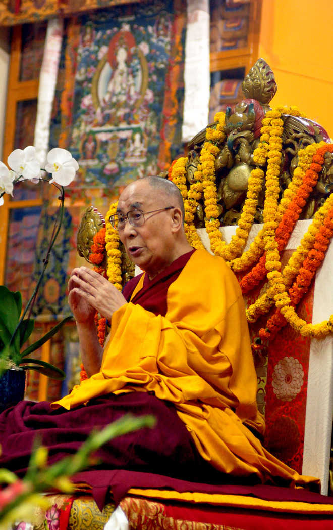 Will live for 100 years, says Dalai Lama