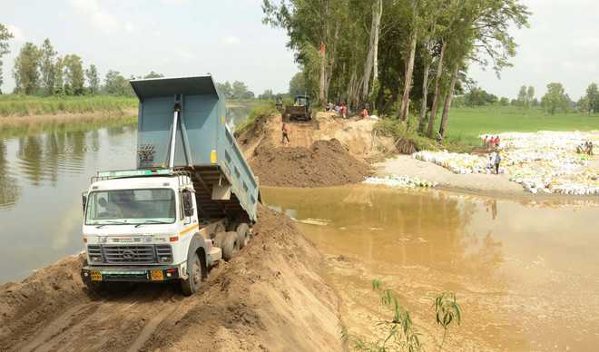 Karnal farmers blame illegal mining for canal breach