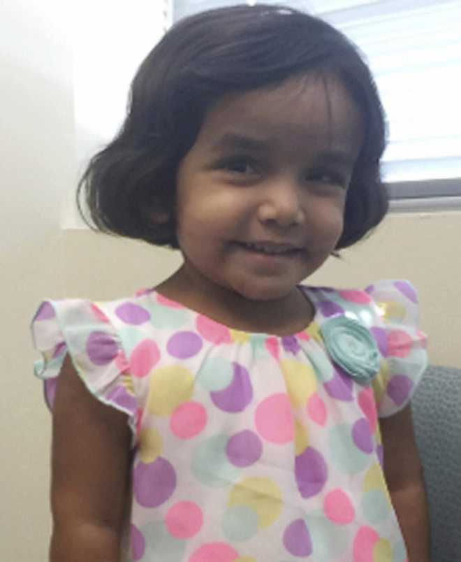 India to cancel OCI cards of Sherin Mathews' foster parents, relatives