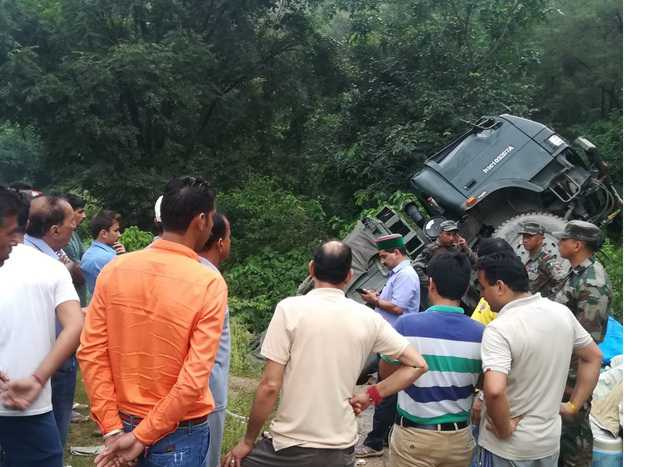 8 Army jawans hurt in accident
