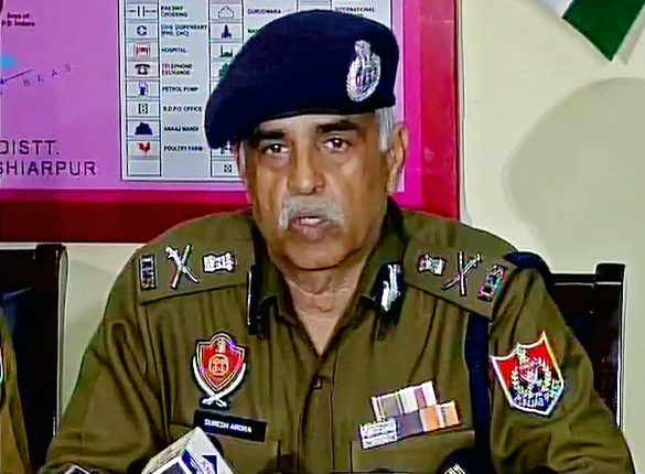 3-month extension to Punjab DGP Suresh Arora
