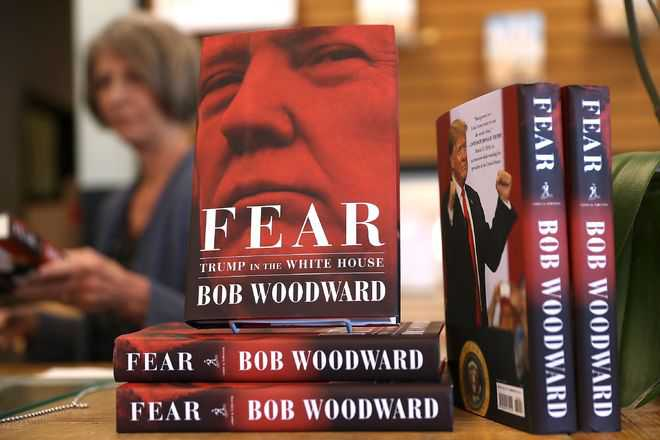 Woodward's White House tell-all 'Fear' goes on sale