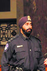 Sikh in Trump's security has Kanpur roots