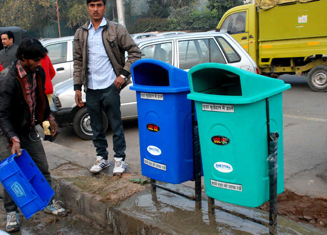 Rs 2.20 cr gone, MC plans to buy 1,300 bins for Rs 35 lakh