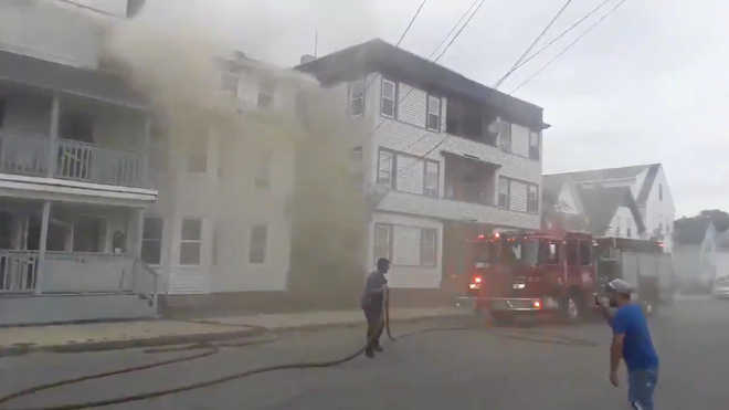 Fires, explosions erupt in multiple US towns near Boston ...