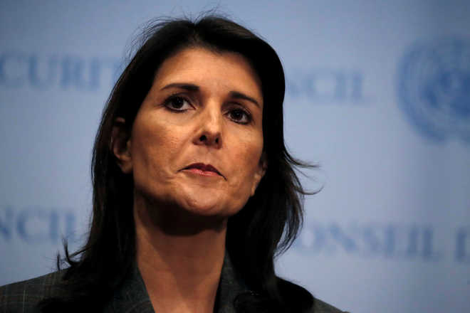 US$  52,701 spent on curtains for Nikki Haley's official residence