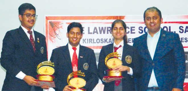 Kirloskar Business Quiz, 2018, held at Lawrence School