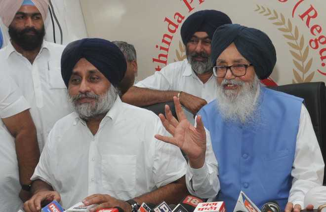 Never sought security from govt, says Sukhbir