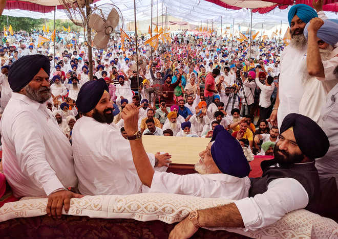 'Cong fearful, not allowing SAD rallies'
