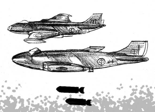 16 Squadron & Badin radar raid