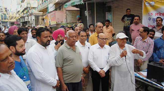 Admn begins swachhata campaign in city
