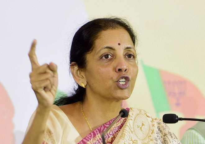 Sidhu's act of hugging Bajwa demoralised Indian soldiers: Sitharaman