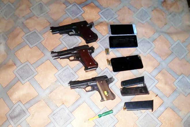 Gangsters enter Army firing range, arrested
