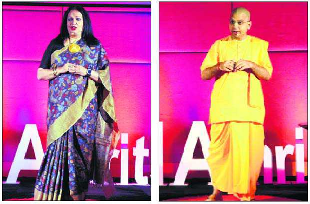 Experts tell success stories at TEDx event