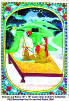 Survival of Pahari miniature paintings raises concern