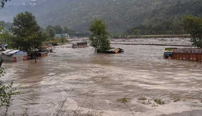 7 people washed away as heavy rain triggers flash floods in Himachal