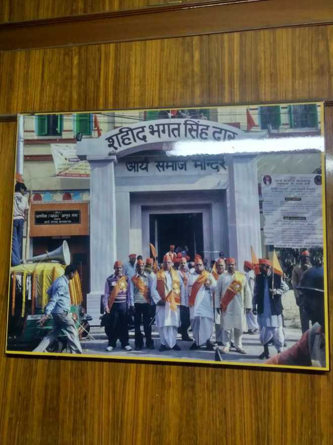 Bhagat Singh's association with Kolkata's Arya Samaj temple continues