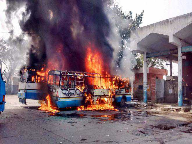Jat quota stir: Four get 5-year jail for indulging in violence