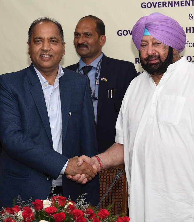 Punjab, Himachal sign MoU on ropeway project