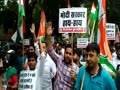 Indian Youth Congerss protest against Rafale scam in New Delhi