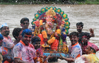 Lord Ganesha's immersion