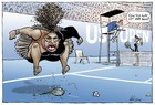 Australian newspaper defies criticism, reprints Serena Williams cartoon
