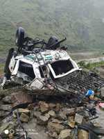 Three couples among 13 killed in accident near Jubbal in Shimla district