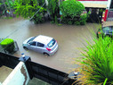 Waterlogging throws normal life out of gear in city