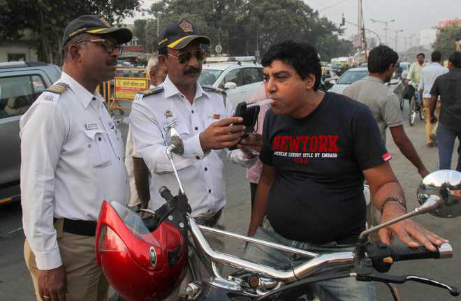Mumbai Police registered 455 Drunken Driving Cases on New Year