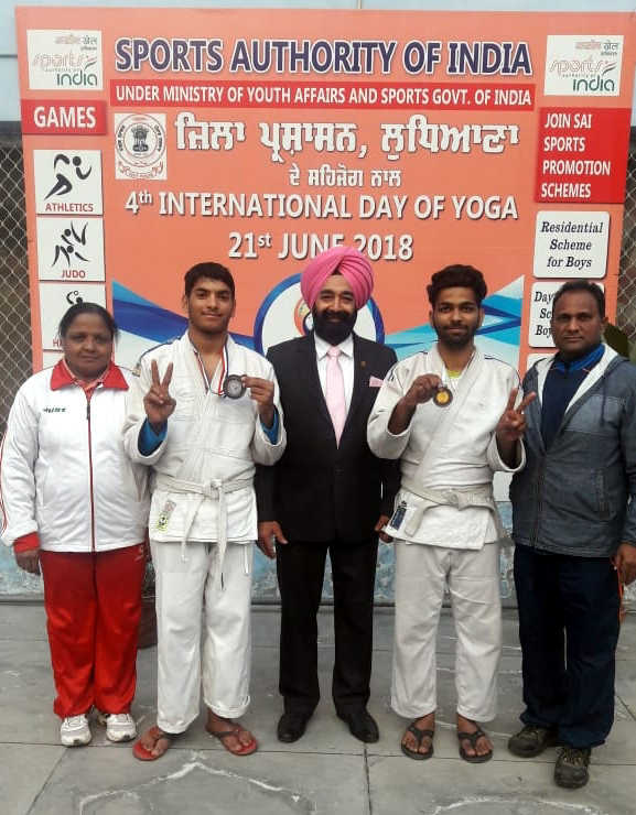 SAI judokas corner glory in national games