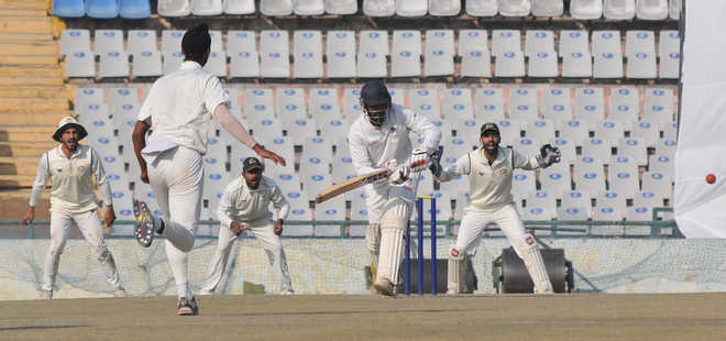Ritwik guides Bengal to 284/7 against Punjab on Day 1