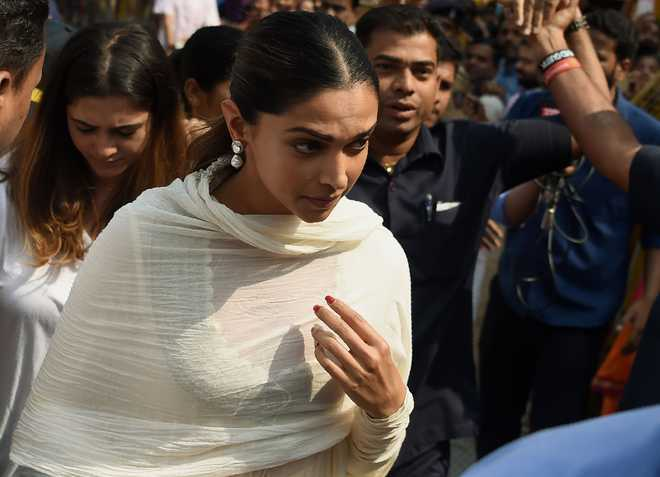 Deepika Padukone launches official website on 33rd ...