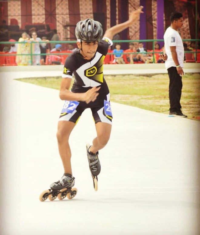 City skater wins gold in National School Games