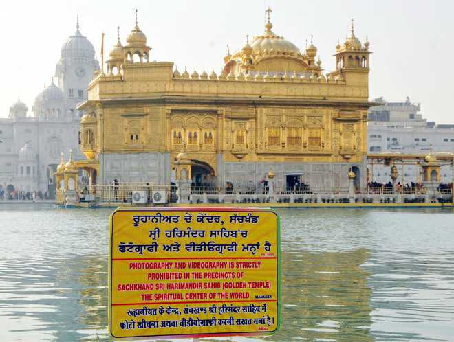 Ban on photography draws flak, SGPC justifies decision