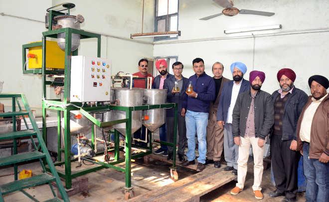 Rs 7 lakh biodiesel plant promises cleaner environment