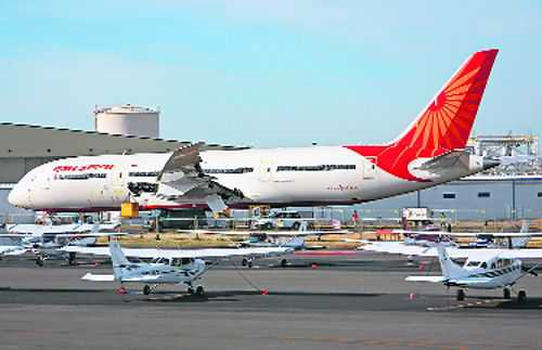 Govt eyes Rs7,000 crore from sale of Air India