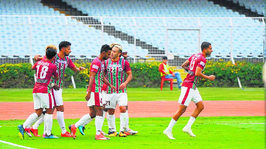 Minerva FC go down to Bagan