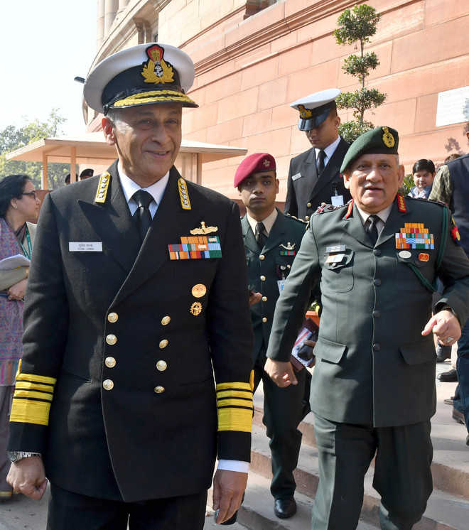 Gen Rawat wants talks with Taliban; Navy Chief: China rise unparalleled