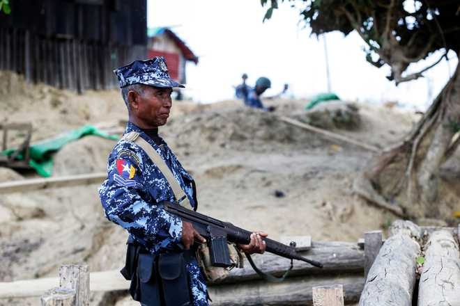 UN appeals to Myanmar for peaceful solution amid troop build-up in Rakhine state