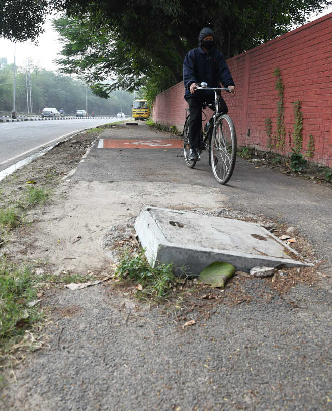 Safety on mind, teen cyclist moves HC