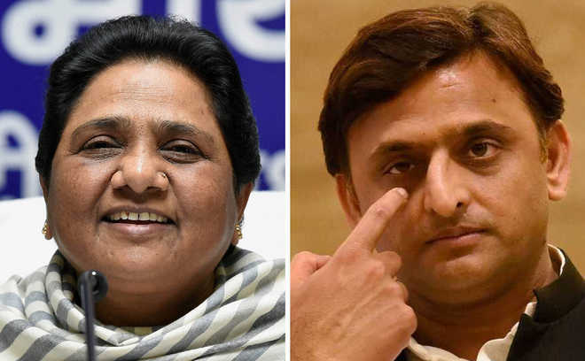 Akhilesh, Mayawati may announce alliance for LS poll tomorrow
