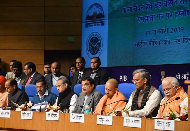 6 states sign agreement for Renukaji dam multipurpose project