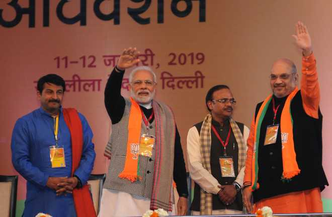NDA will definitely win 2019 Lok Sabha polls: Amit Shah