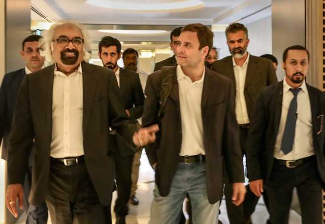 Rahul takes jibe at PM in Dubai; says does not want to tell his 'Mann ki Baat'