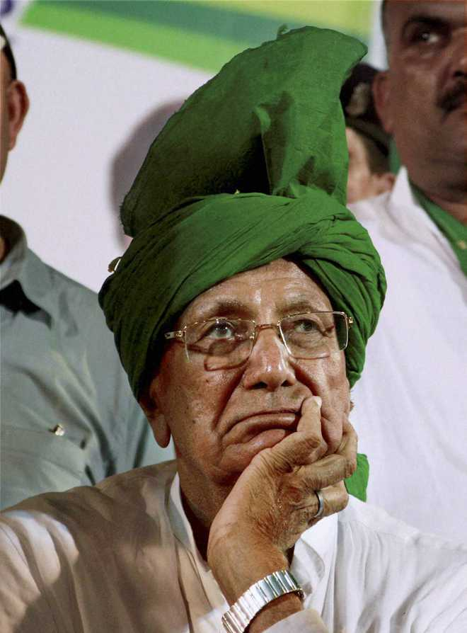 Court grants bail to former CM OP Chautala in money laundering case