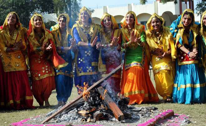 The spirit of Lohri is sadly gone