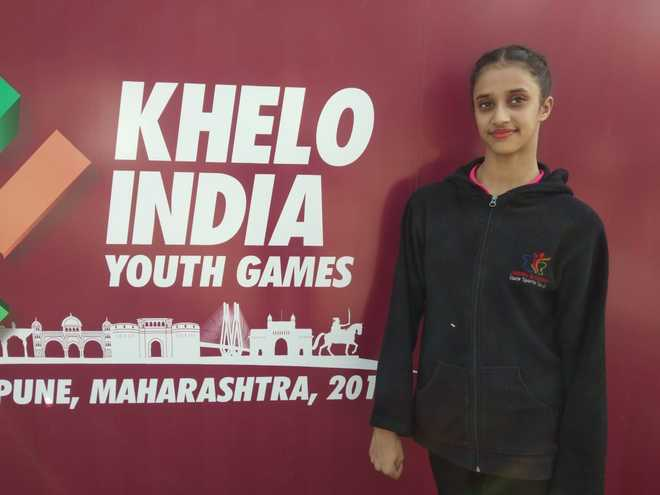 J&K gymnast Bavleen wins three gold, 2 silver