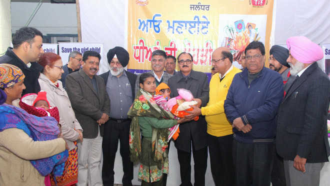 Health Department celebrates 'Dhiyan di Lohri' with fervour